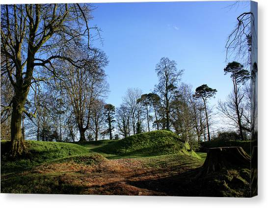 Tullyhogue Fort, Cookstown. Canvas Print