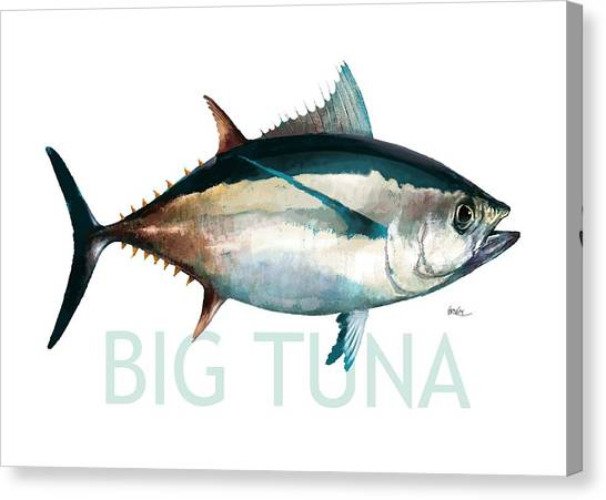 Angel Fishes Canvas Print - Tuna 001 by Trevor Irvin