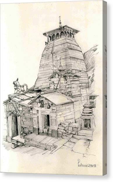 Tungnath Canvas Print by Padamvir Singh
