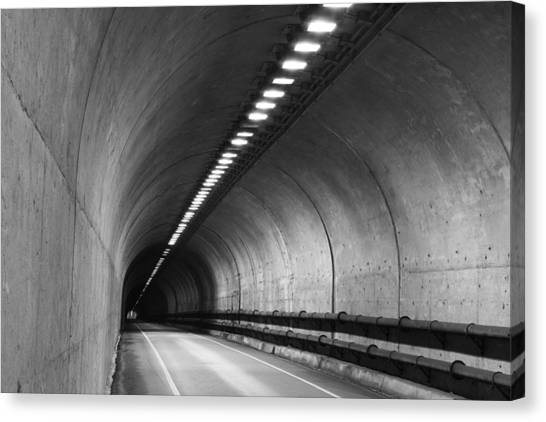 Tunnel Canvas Print by Eric Foltz