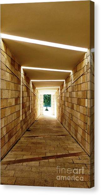 Holocaust Museum Canvas Print - Tunnel Vision by Carlos Amaro
