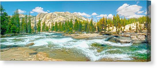 Tuolumne River Rapids Canvas Print