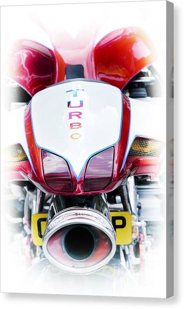Suzuki Canvas Print - Turbo Charged by Tim Gainey