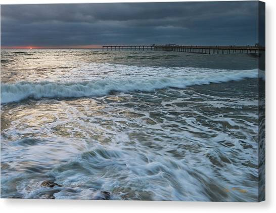 Canvas Print featuring the photograph Turbulence by Dan McGeorge