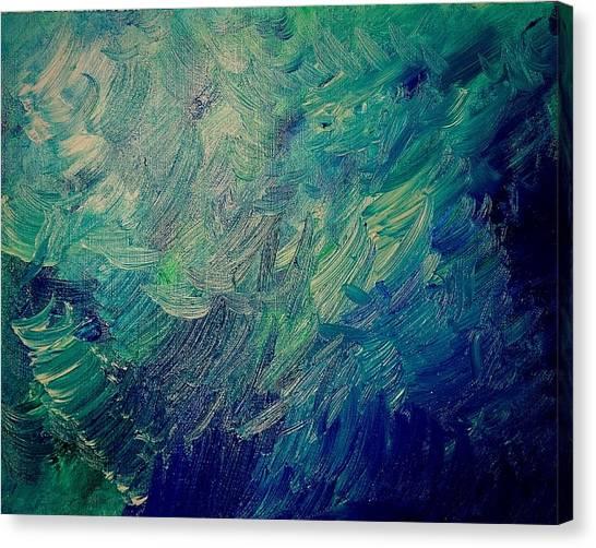 Turbulent Sea Canvas Print