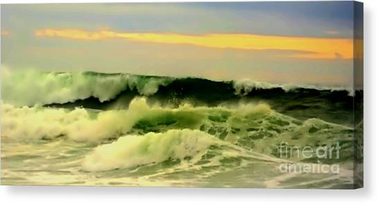 Turbulent Ocean Swell Canvas Print