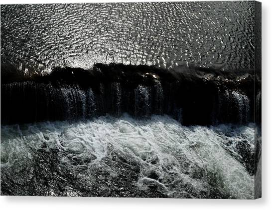 Turbulent Water Canvas Print