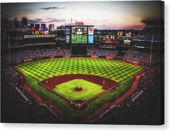 Atlanta Braves Canvas Print - Turner Field, Atlanta by Unsplash