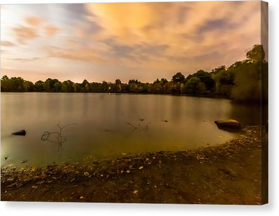 Turners Pond After Dark Canvas Print