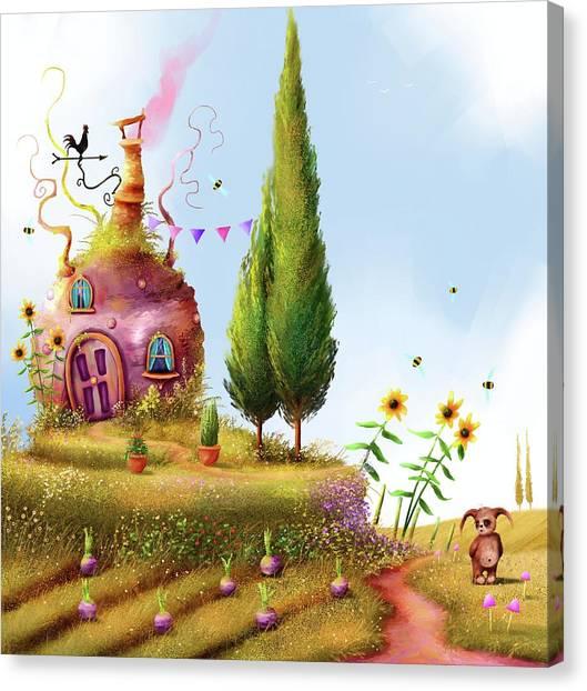 Turnips And Trolls Canvas Print