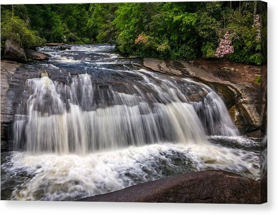 Turtleback Falls Canvas Print