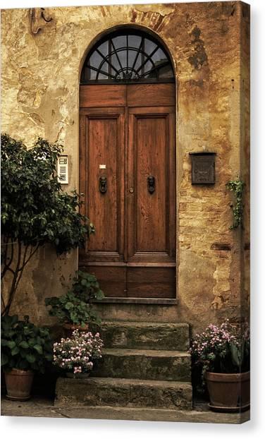 Tuscan Entrance Canvas Print