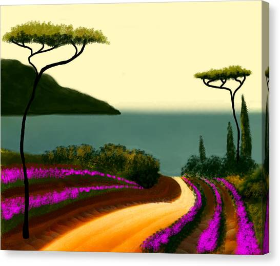 Tuscan Fields Of Beauty Canvas Print