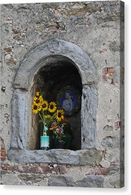 Tuscan Niche Canvas Print
