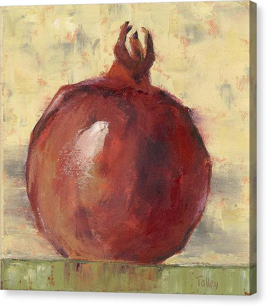 Tuscan Pomegranate Canvas Print