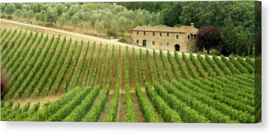 Tuscan Symmetry Canvas Print