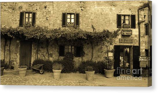 Tuscan Village Canvas Print