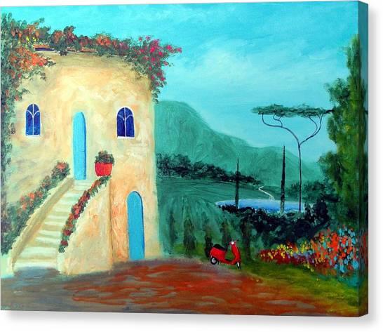 Tuscany Dreams Canvas Print