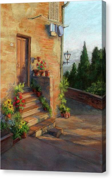 Tuscany Morning Light Canvas Print