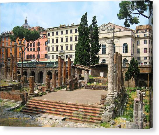 Tuscany- Roman Forum Canvas Print
