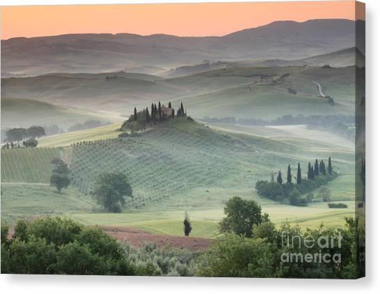 Field Canvas Print - Tuscany by Tuscany