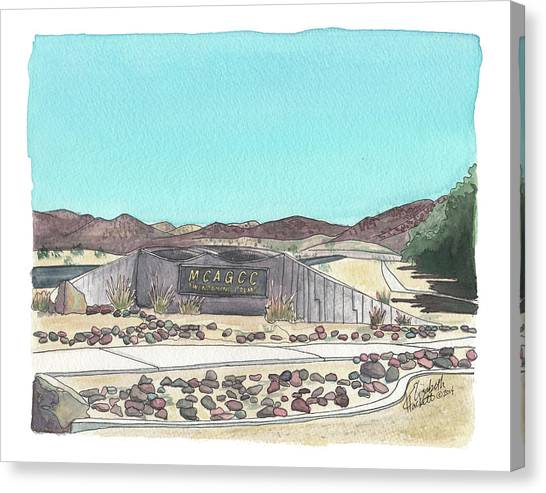 Twentynine Palms Welcome Canvas Print