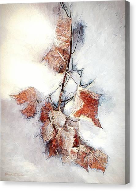 Twigged Canvas Print