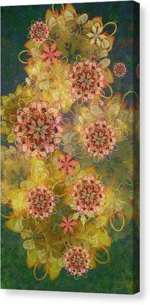 Twilight Blossom Bouquet Canvas Print