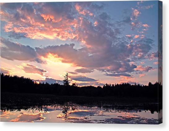 Twilight Glory Canvas Print
