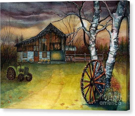 Twilight Hour Canvas Print