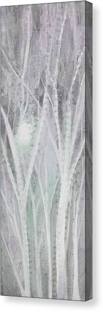 Background Canvas Print - Twilight In Gray I by Shadia Derbyshire