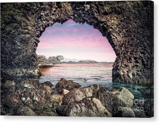 North Shore Canvas Print - Twilight Journey by Evelina Kremsdorf