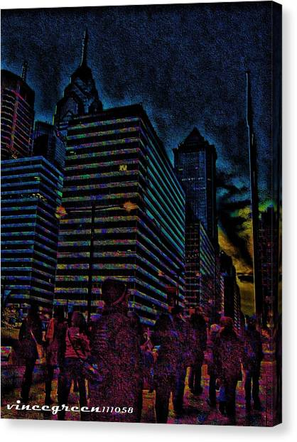 Twilight Of Uncertainty Canvas Print