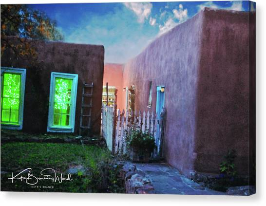 Twilight On Bent Street Canvas Print