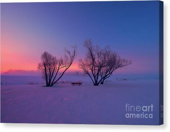 Saskatchewan Canvas Print - Twilight Park II by Ian McGregor