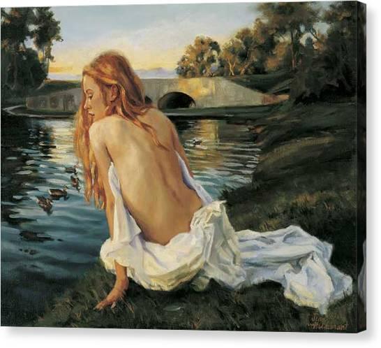Twilight Reflection Canvas Print