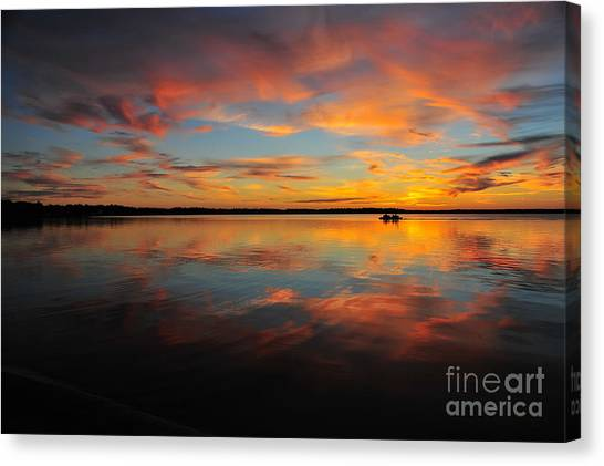 Twilight Reflection Canvas Print