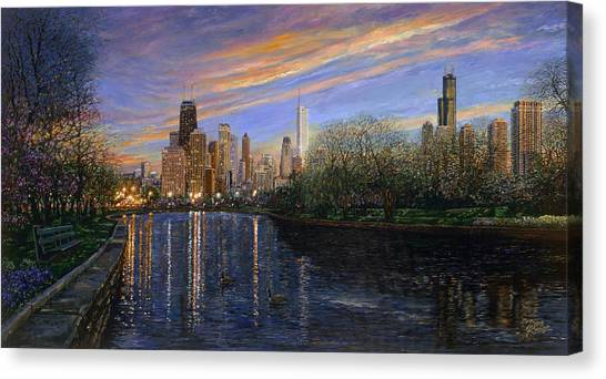 Twilight Serenity Canvas Print