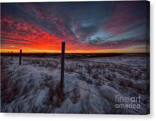 Saskatchewan Canvas Print - Twilight Virtuosity by Ian McGregor