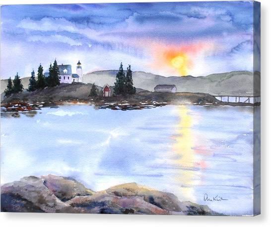 Twilight Welcome Canvas Print