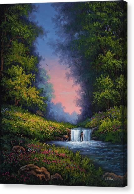 Twilight Whisper Canvas Print