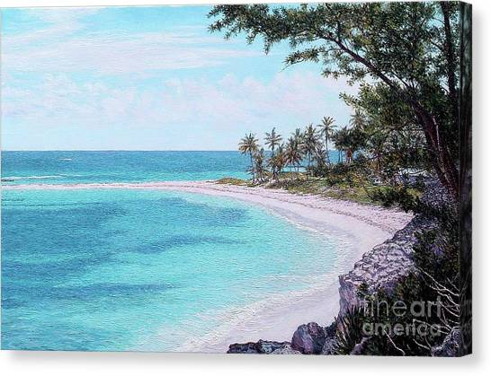 Twin Cove Paradise Canvas Print