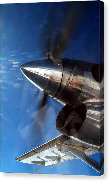 Twin Otter  Canvas Print by Richard Steinberger