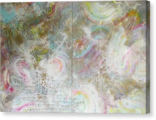 Twin Spica Canvas Print