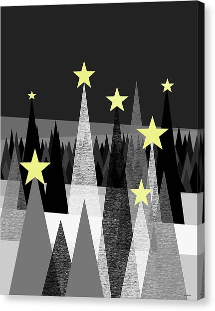 Twinkle Night Canvas Print