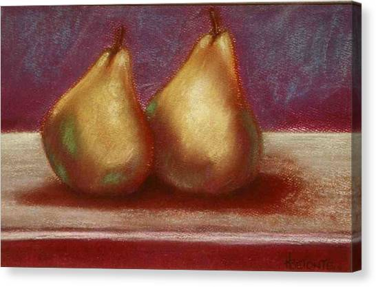 Twins Canvas Print by Helen O Hara