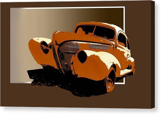Twisted 40 Canvas Print