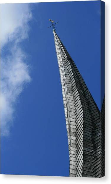Twisted Spire Canvas Print by Cathy Weaver
