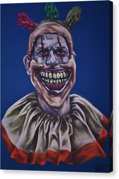 Twisty The Clown  Canvas Print