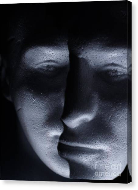 Two Faced Shadow Canvas Print